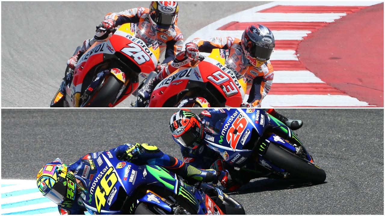 MotoGP 2017 llega a Le Mans con cuatro candidatos al título