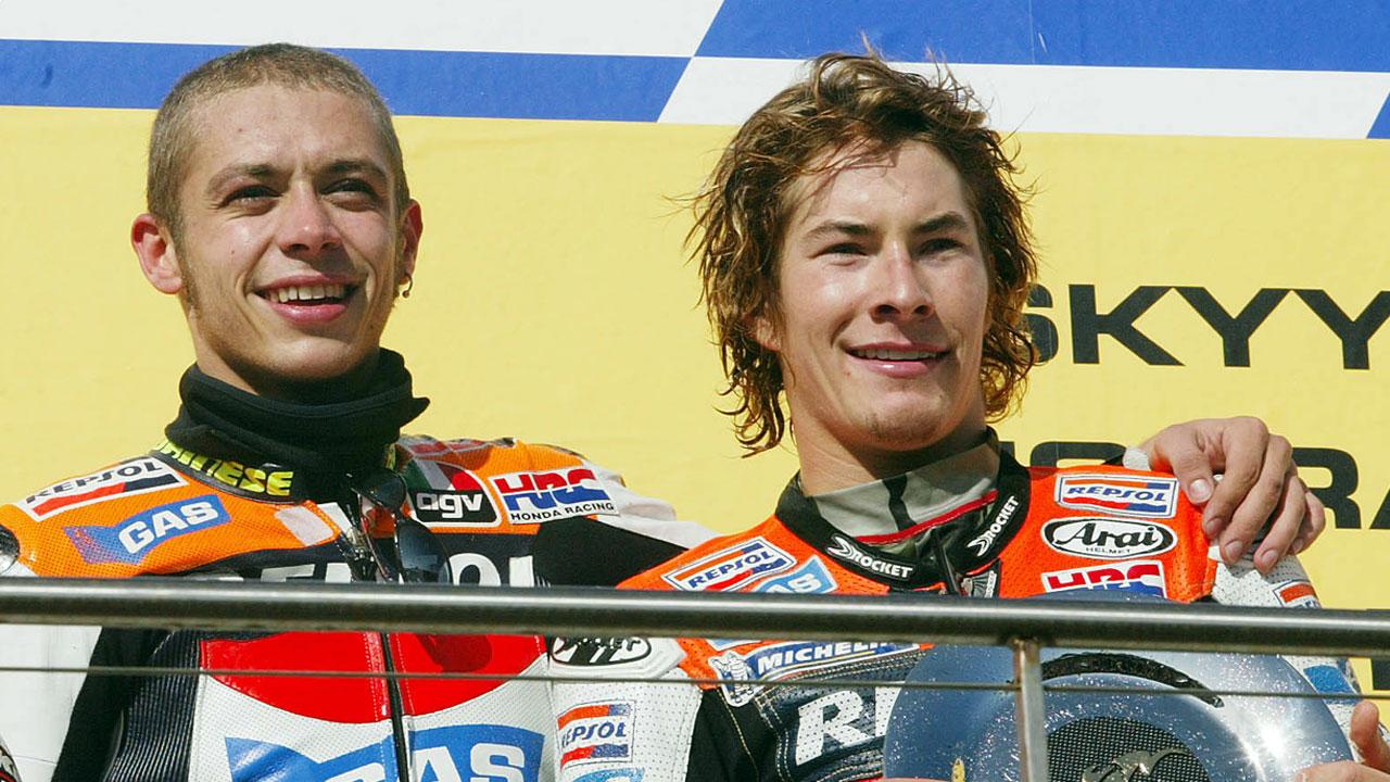 Valentino Rossi nunca olvidará la primera vez que vio a Nicky Hayden