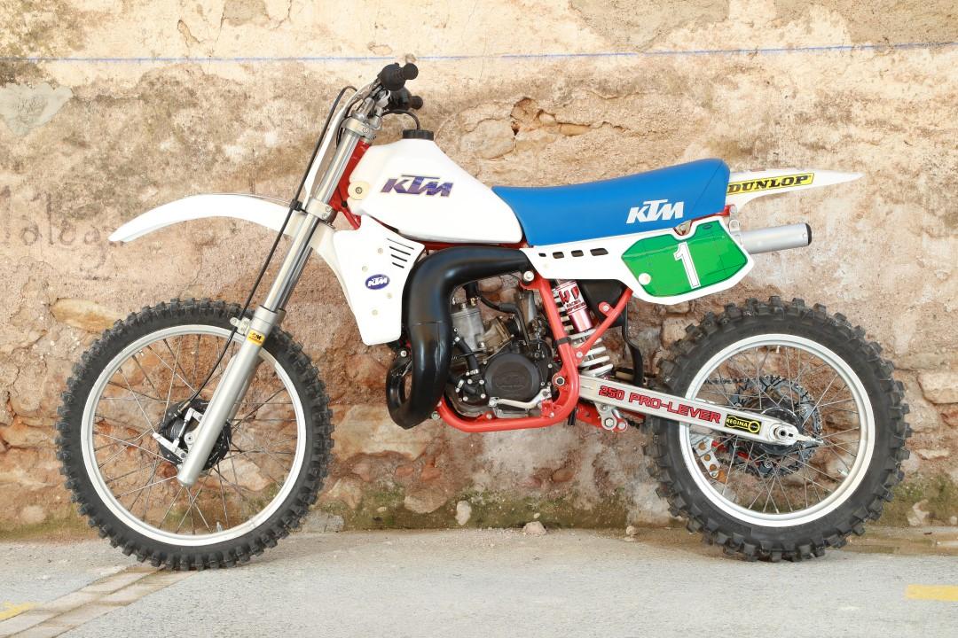 KTM MX 250 1984, el retorno al éxito en el Mundial MX