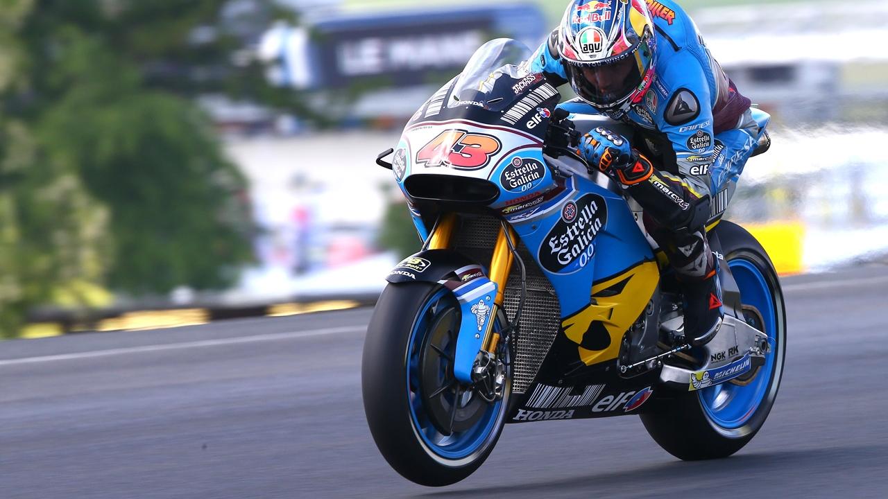 Jack Miller arrasa bajo el agua en MotoGP