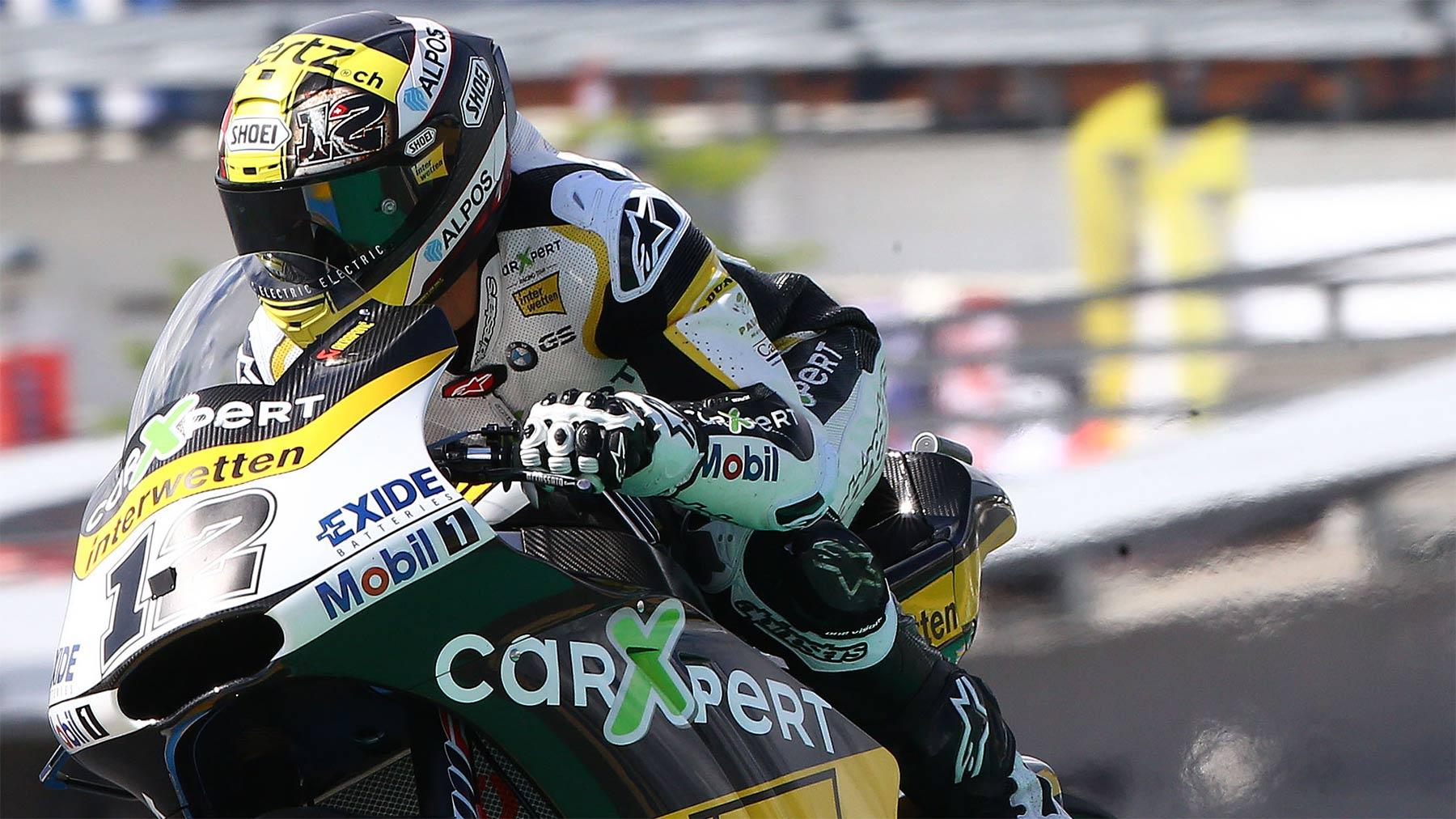 Thomas Luthi marca el récord de circuito y la pole en Le Mans