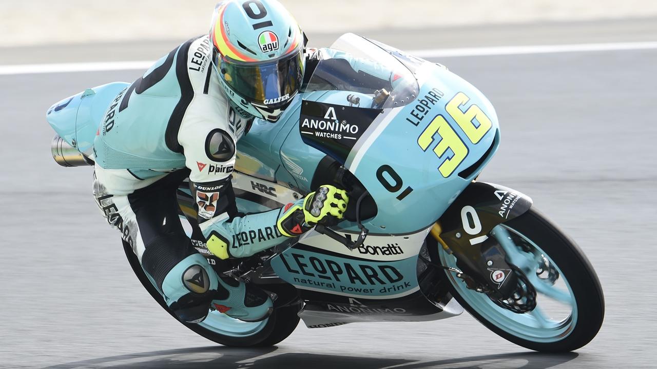 Joan Mir se hace inmenso en Le Mans y es mucho más líder de Moto3