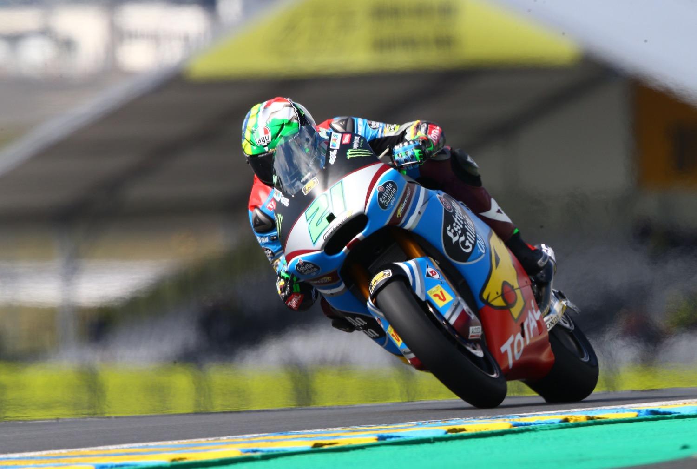 Franco Morbidelli triunfa en Le Mans superando a Pecco Bagnaia y Thomas Luthi
