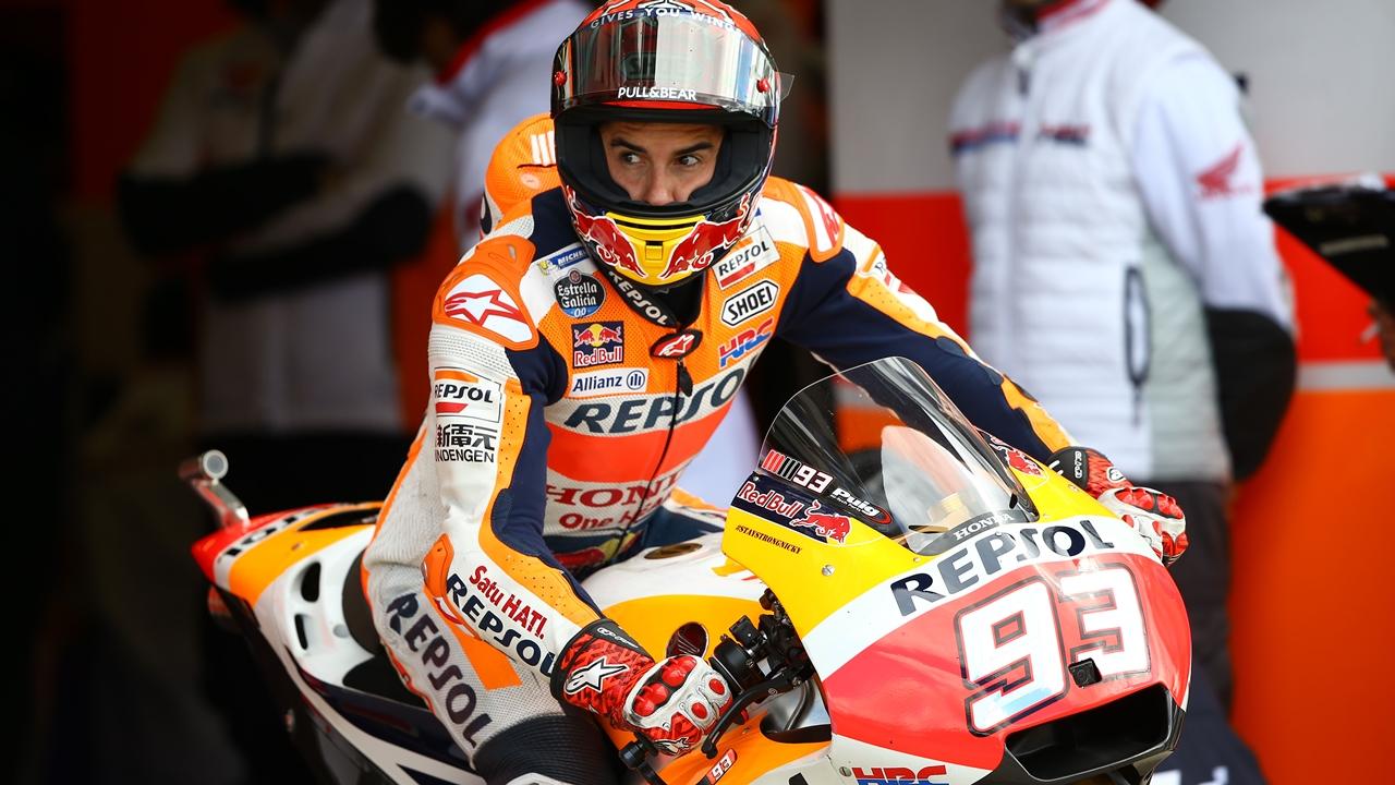 """Marc Márquez: """"Creía que ganaba Rossi, pero todos somos humanos"""""""