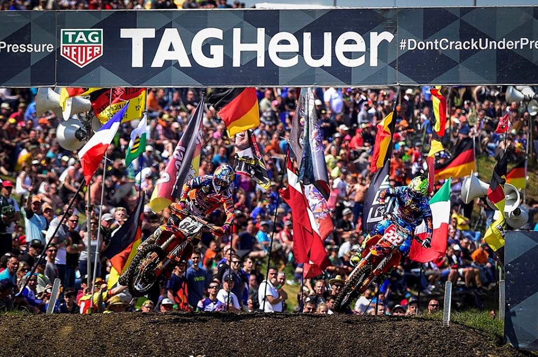 Tony Cairoli mantiene el liderato del Mundial MXGP tras ganar en Alemania
