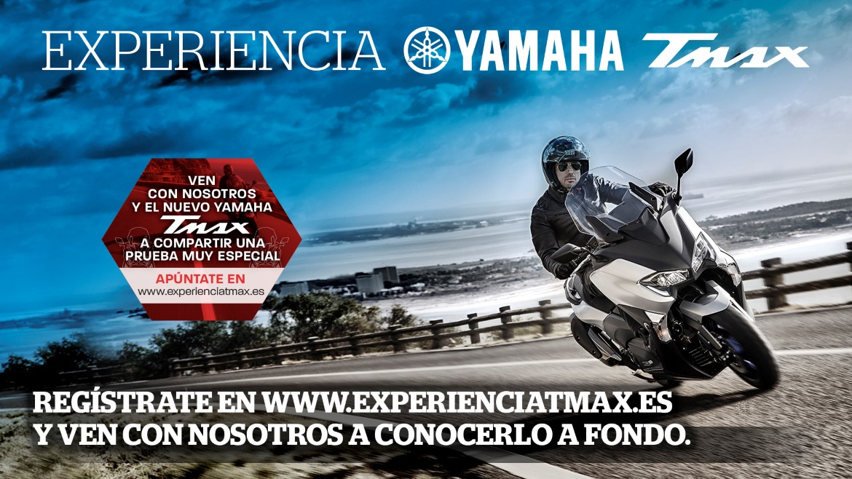 Vive la Experiencia Yamaha TMAX