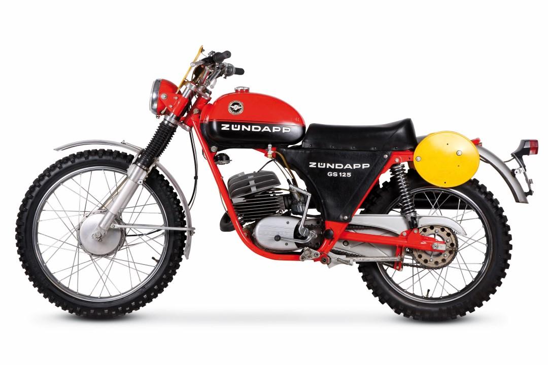 La clásica Zündapp GS 125,1973