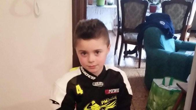 Alessio Aseglio Gianinet, joven piloto de 8 años, fallece entrenando en minimoto