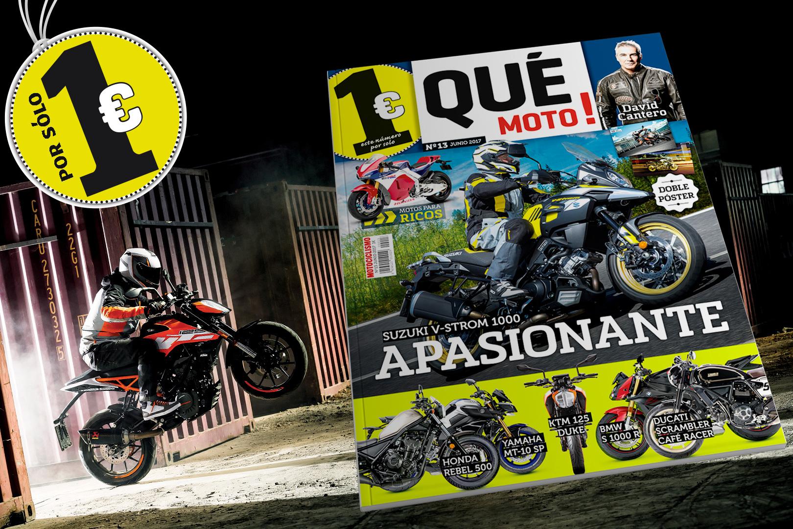 Hazte con la revista Qué Moto!... ¡A 1 euro!
