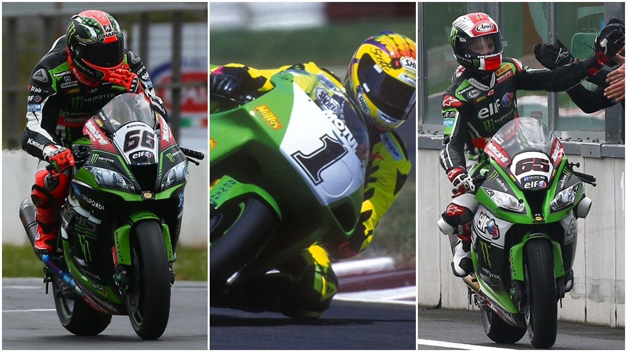 Las 100 victorias de Kawasaki en Superbike: ¿quiénes, con qué, cuándo y dónde?