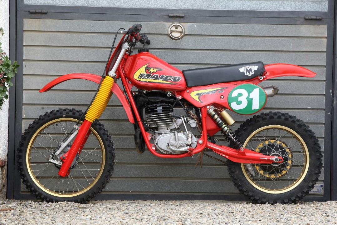 Moto clásica: Maico MC 250 Mega 2, 1981