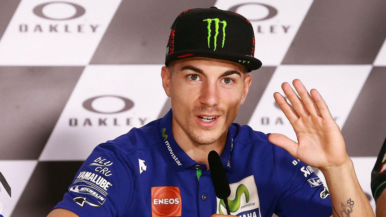"""Maverick Viñales: """"De momento no sabemos si Valentino Rossi está en problemas"""""""