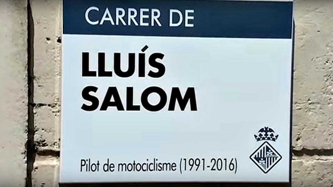 La Calle Luis Salom ya forma parte de Palma de Mallorca