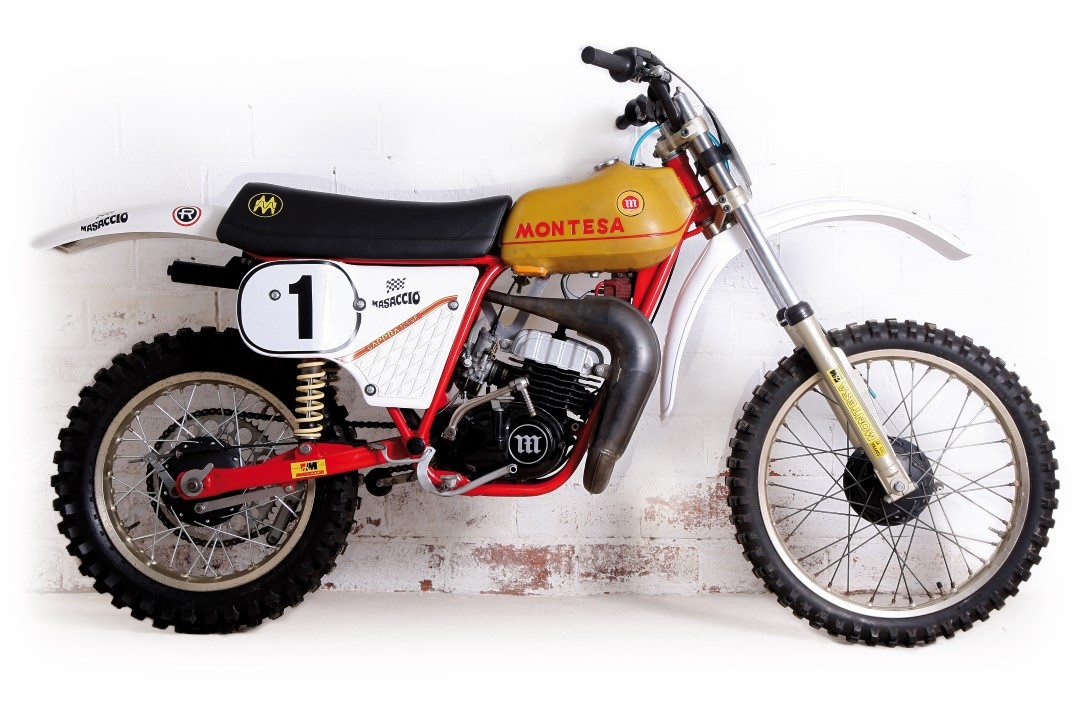 Moto clásica: Montesa Cappra 125 VF, 1980