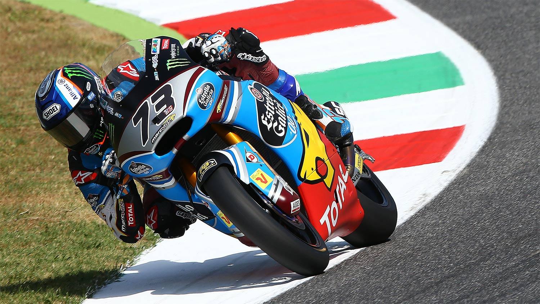 Álex Márquez domina Moto2 en los libres de Mugello
