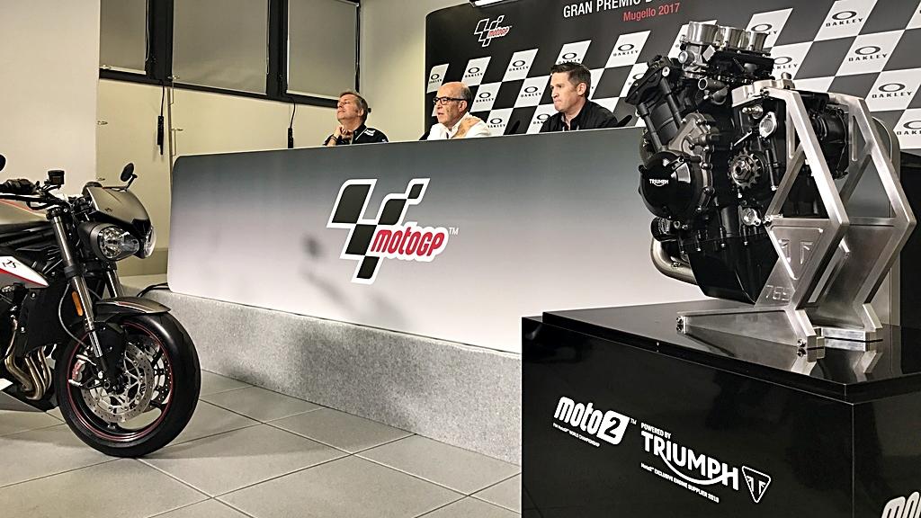 Triumph ya es oficialmente la sustituta de Honda a partir de 2019 en Moto2