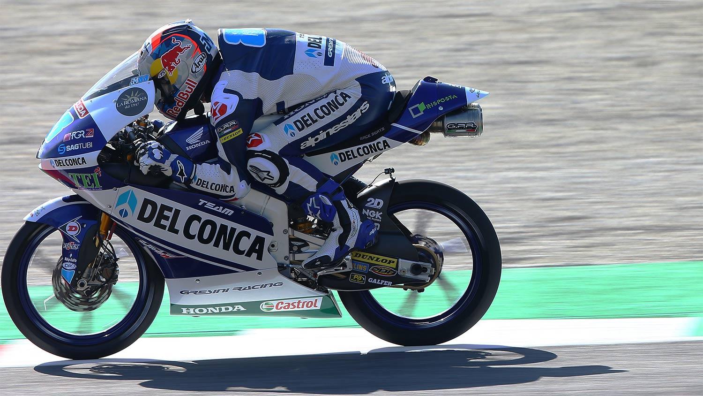 Jorge Martin suma una nueva pole en Moto3 pero no saldrá primero