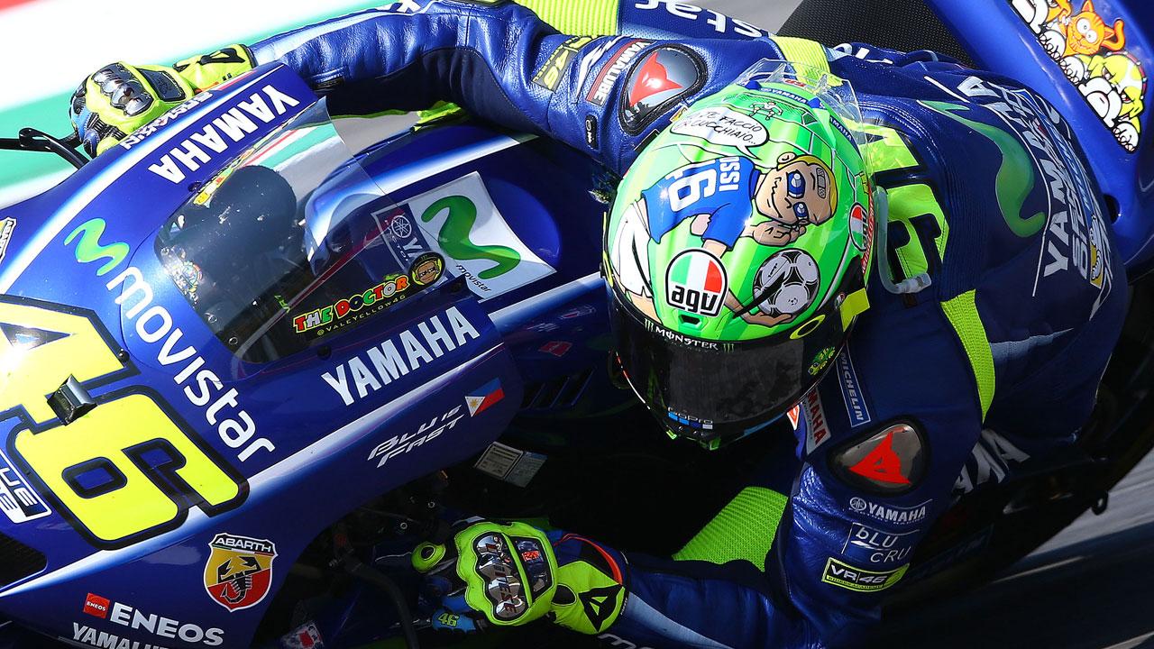 """Valentino Rossi: """"Este segundo puesto es más importante de lo normal"""""""