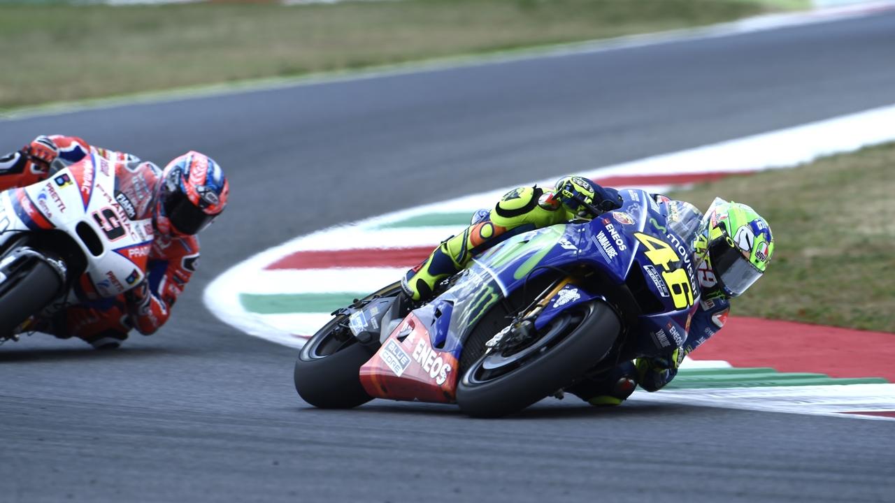 """Valentino Rossi: """"No me gusta por mí pero para Italia ha sido un día grande"""""""