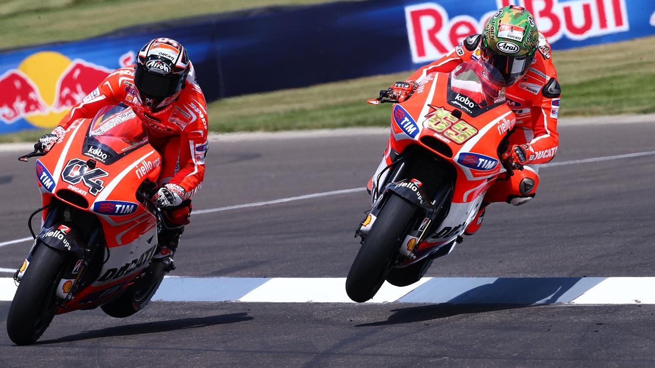 Andrea Dovizioso y Nicky Hayden, los grandes héroes de la clase trabajadora de MotoGP