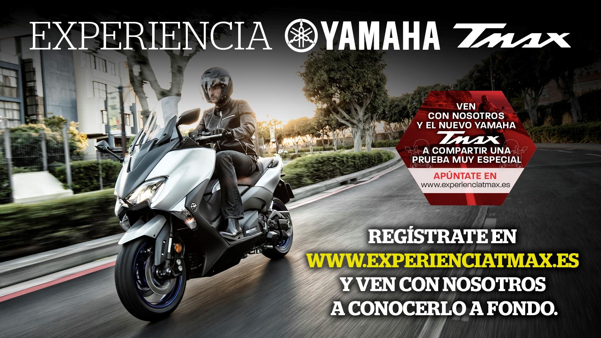 La Experiencia Yamaha TMAX ¡te espera!
