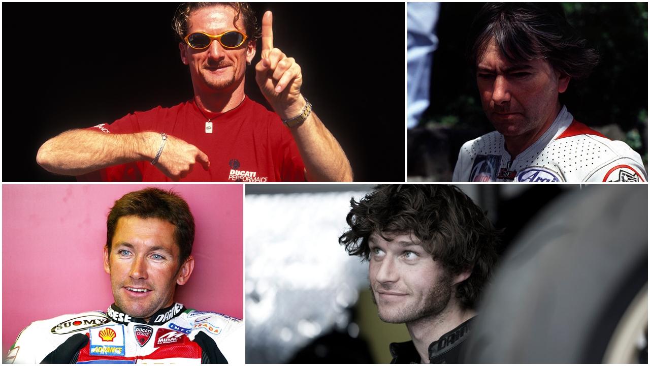 Los 10 pilotos más carismáticos más allá del Mundial del motociclismo