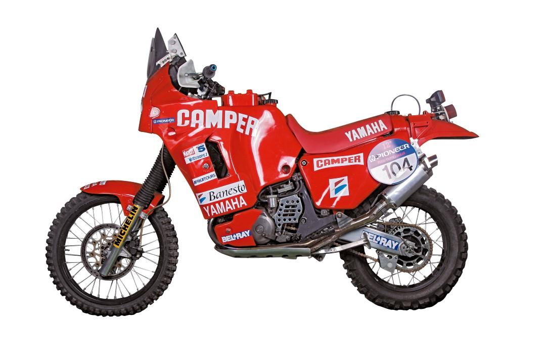 Moto clásica: Yamaha YZE 750 T, 1990
