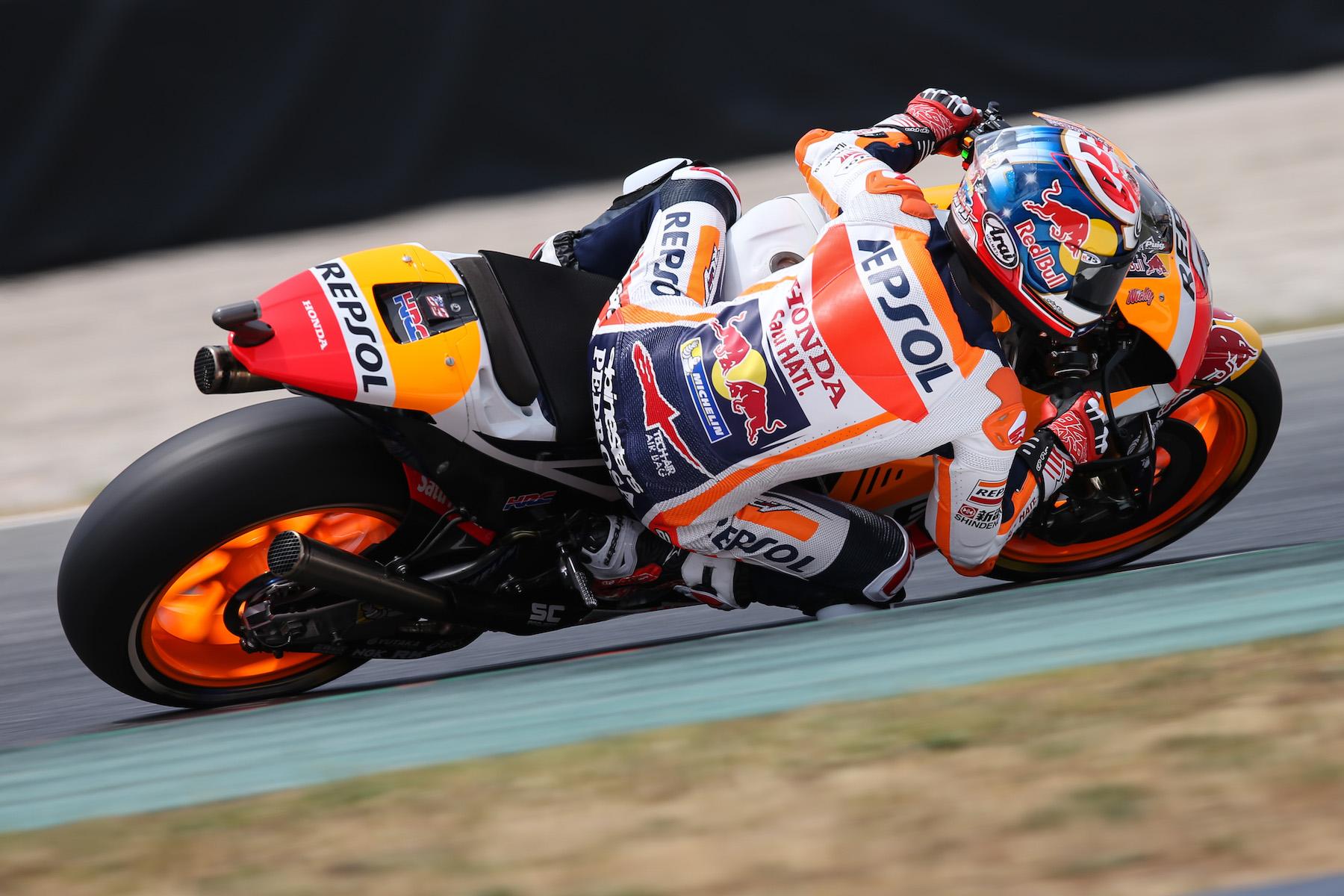Dani Pedrosa se hace con la pole de MotoGP por delante de Jorge Lorenzo