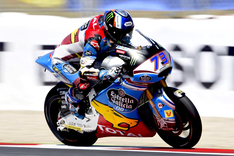Álex Márquez arrasa en Moto2