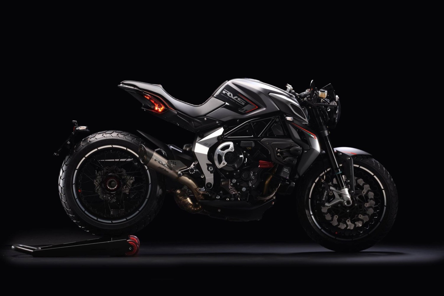 MV Agusta RVS, de Varese con 150 cv para 160 kg y la mayor exclusividad posible