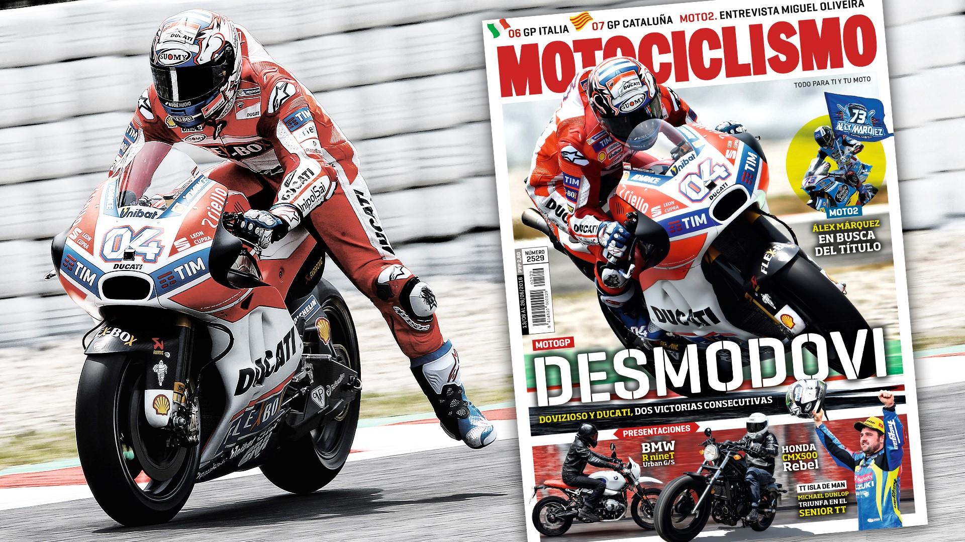 DesmoDovi, protagonista en Motociclismo
