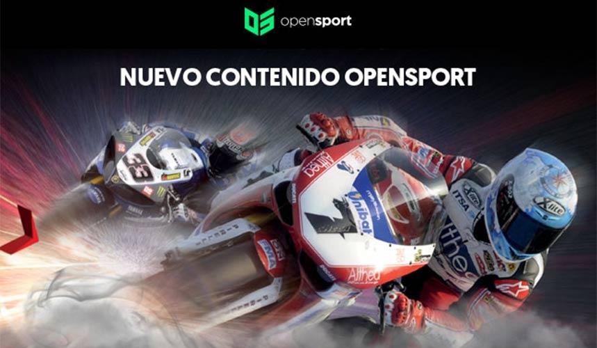 Opensport retransmitirá también Superbikes a partir de este fin de semana