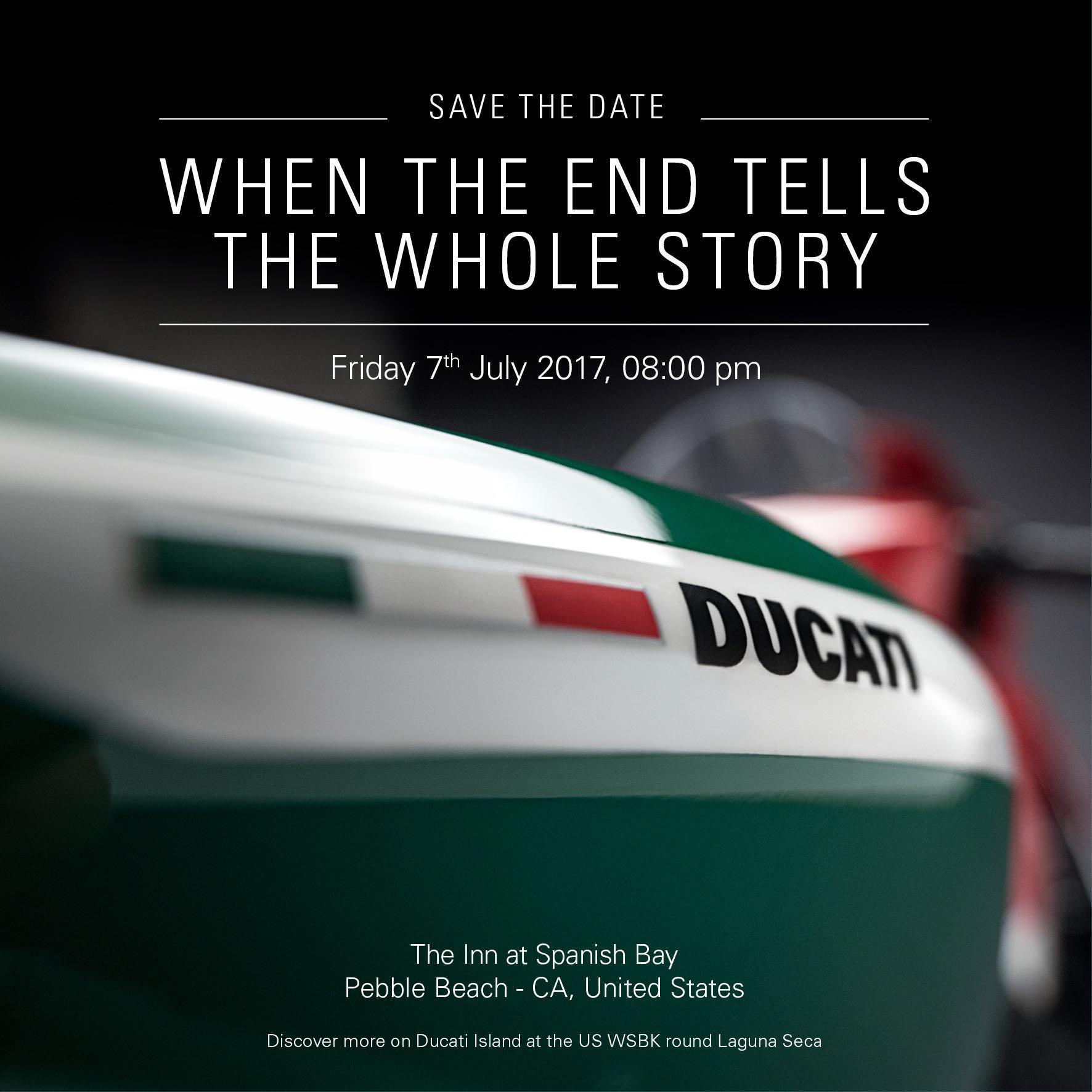 Ducati prepara el fin de la Panigale y el bicilíndrico, atentos al 7 de julio