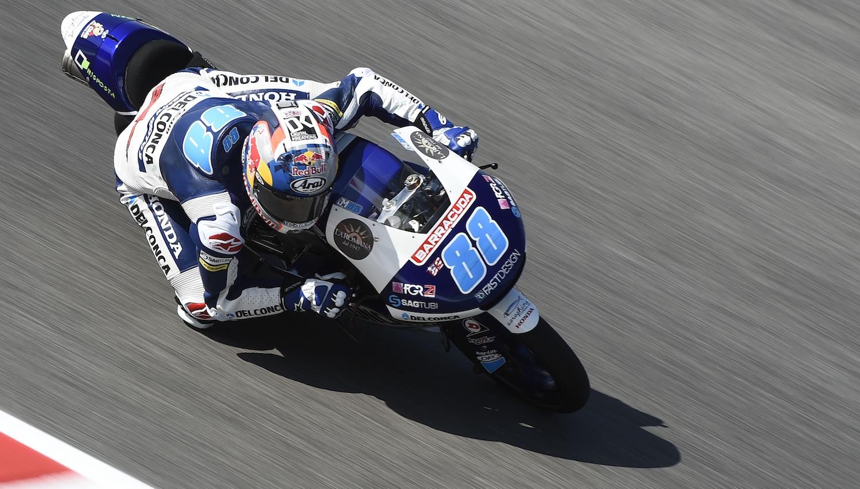 Jorge Martín es el más rápido de Moto3 en Assen