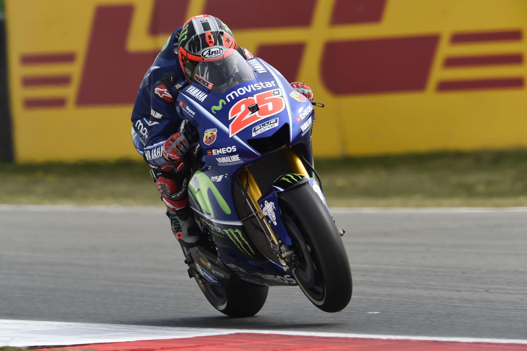 Maverick Viñales retoma el buen camino y domina los libres de MotoGP en Assen