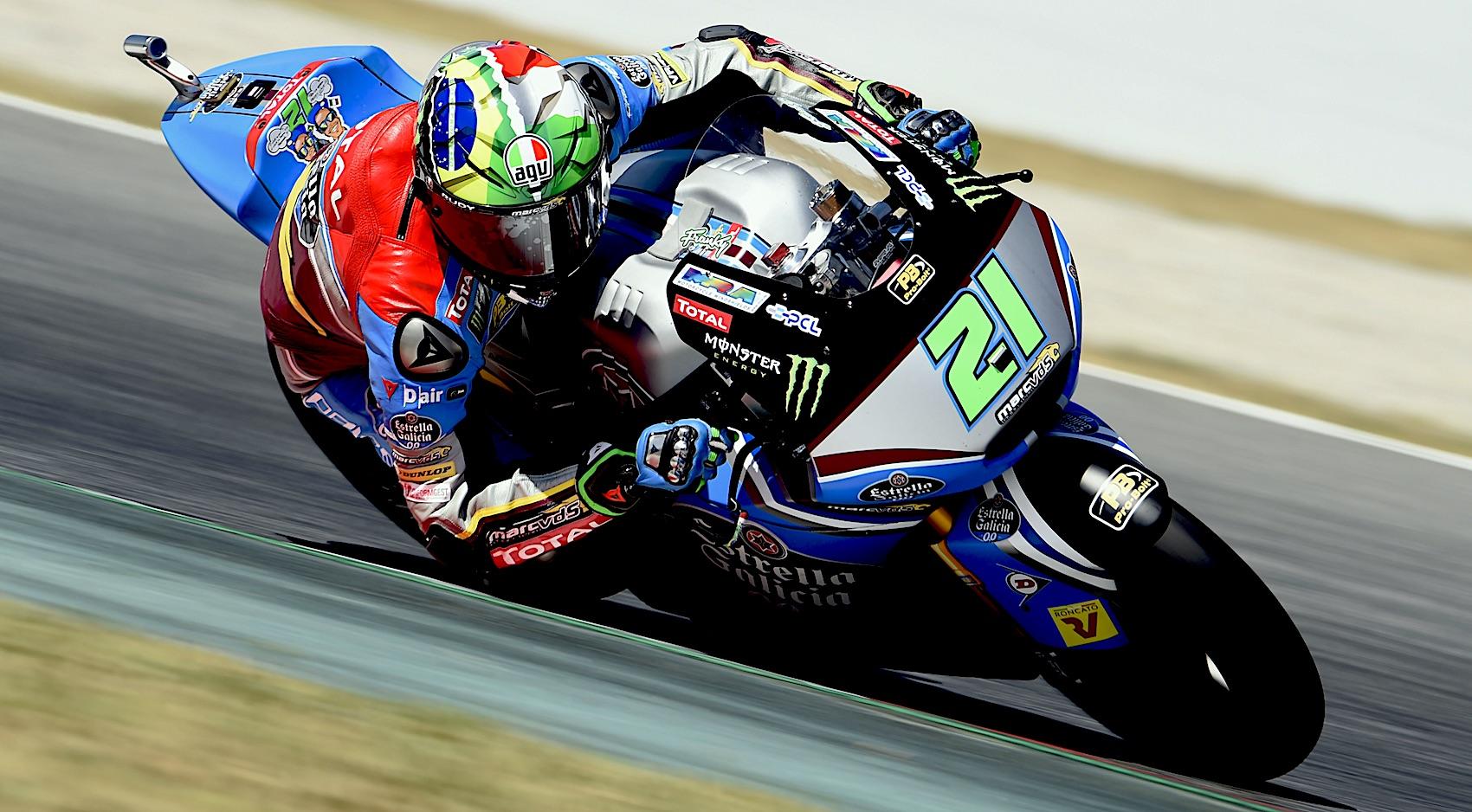 Franco Morbidelli se lleva los primeros libres de Moto2 en Assen