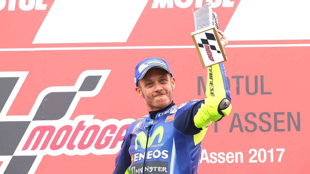 """Valentino Rossi: """"La razón por la que corro es por lo que experimento tras una victoria"""""""