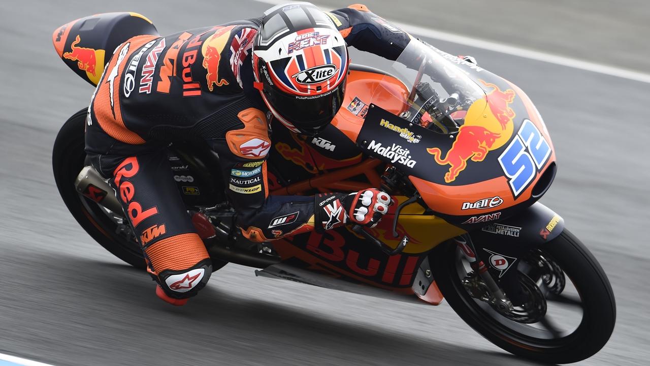 Danny Kent vuelve a Moto3 para sustituir a Niccolò Antonelli en el GP de Alemania
