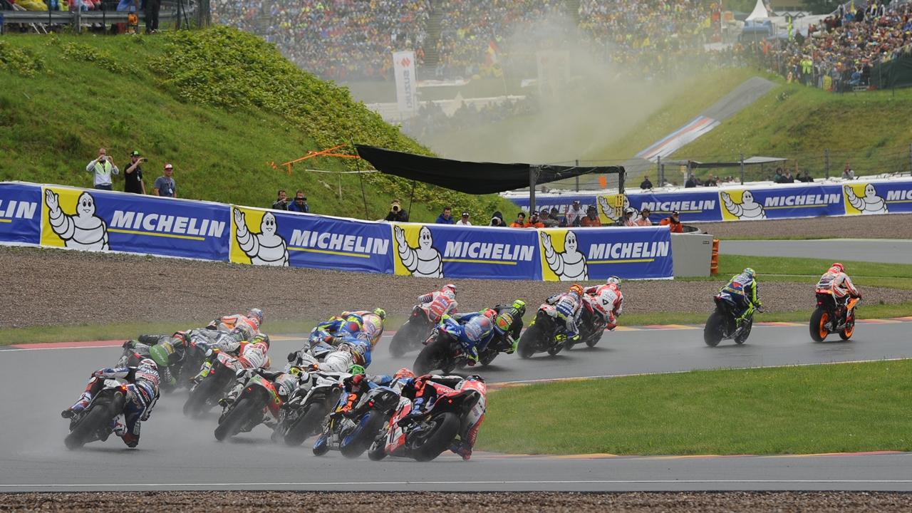 Los pilotos de MotoGP tendrán 20 minutos más en Sachsenring