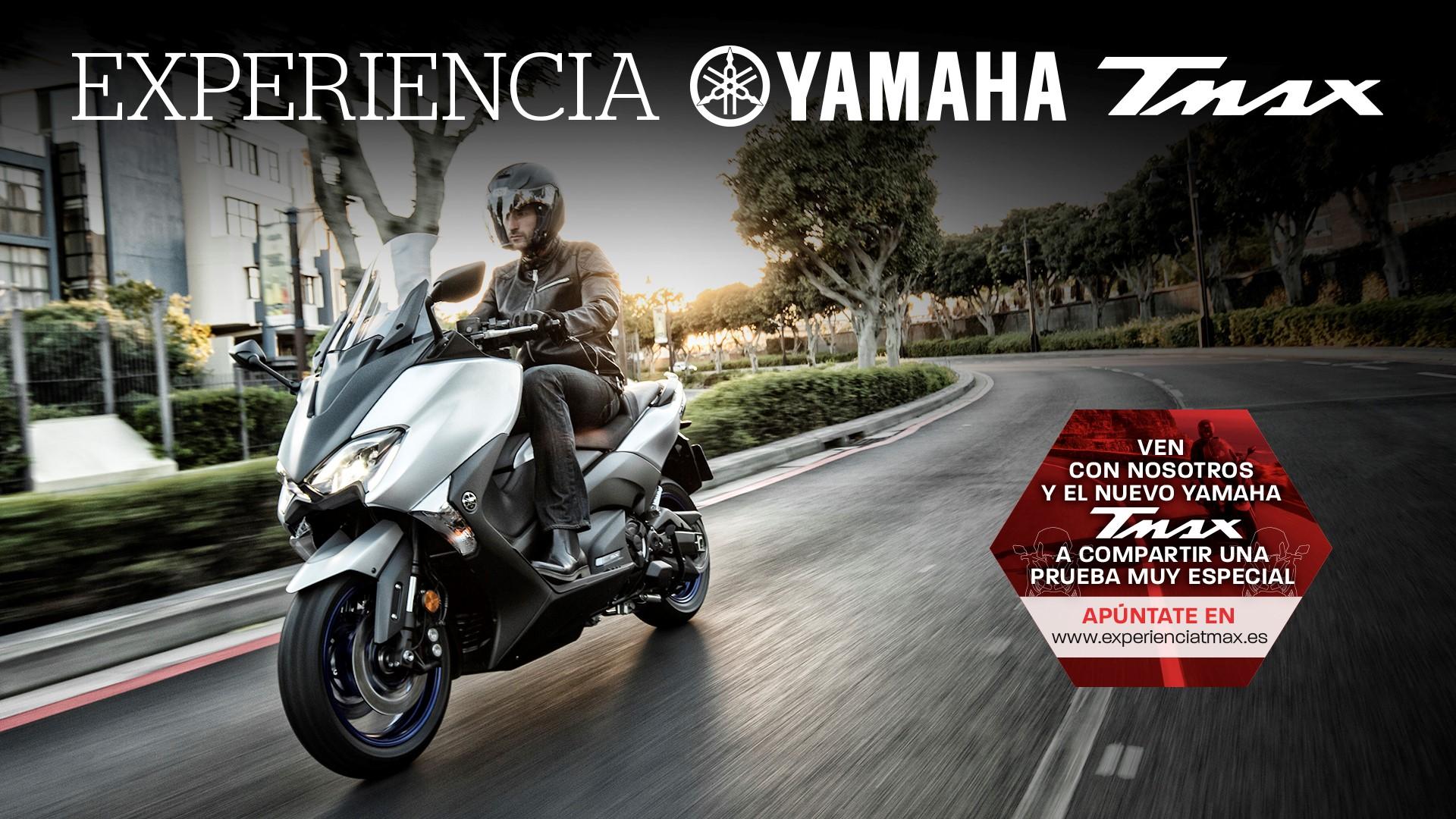 Experiencia Yamaha TMAX, comienza la cuenta atrás