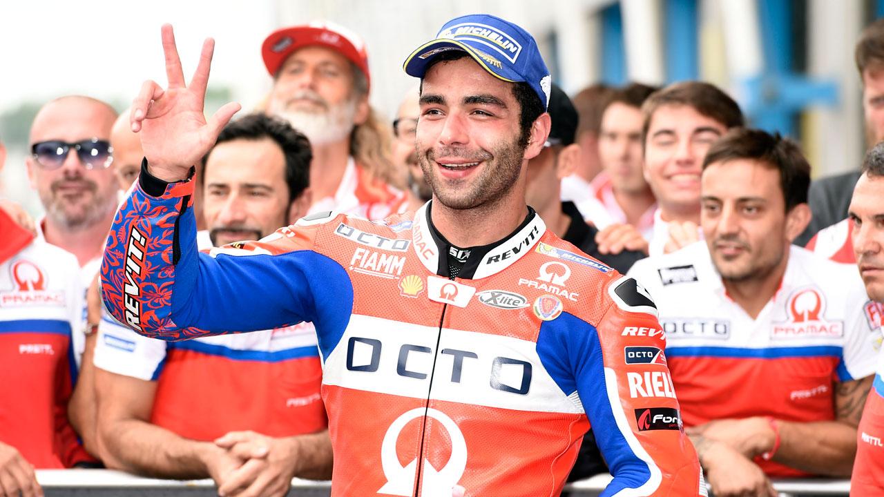 Danilo Petrucci renueva con Octo Pramac Racing para 2018