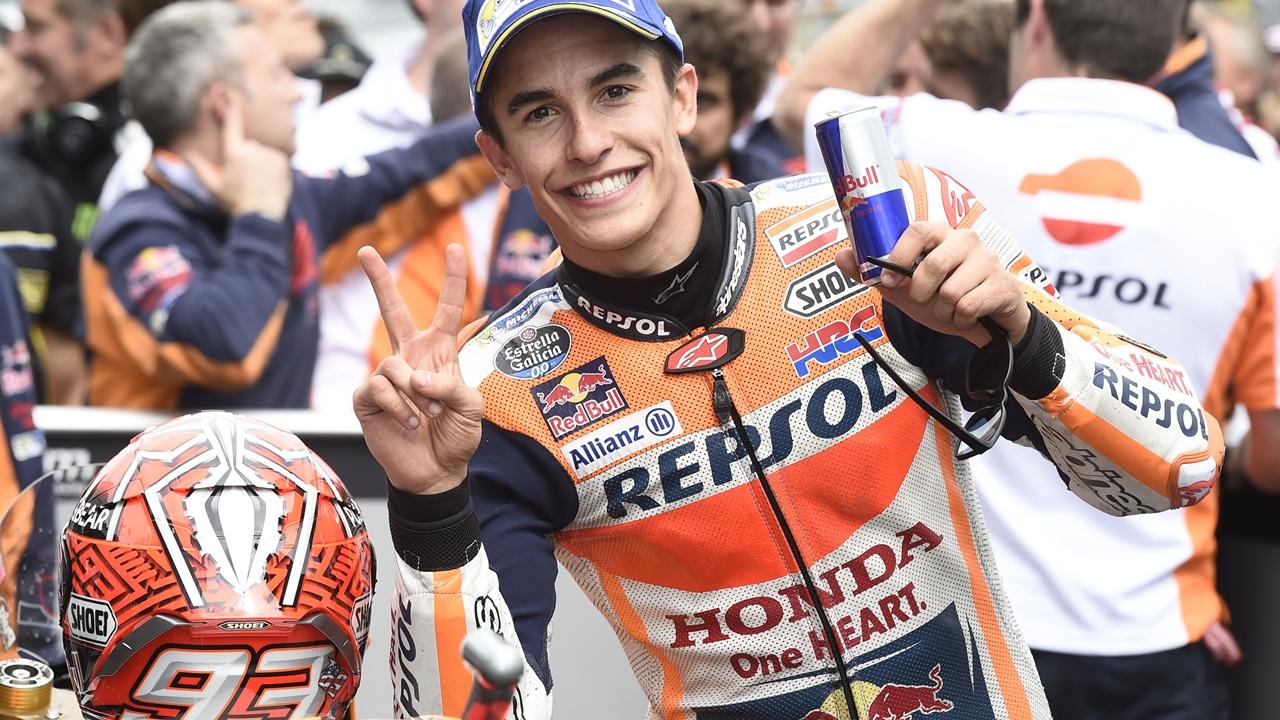 """Marc Márquez: """"Hace tres carreras estaba a 37 puntos, es importante estar líder"""""""