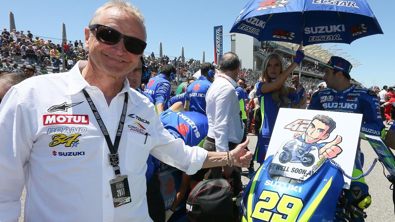 Kevin Schwantz, el honor de Suzuki y la actitud de Andrea Iannone
