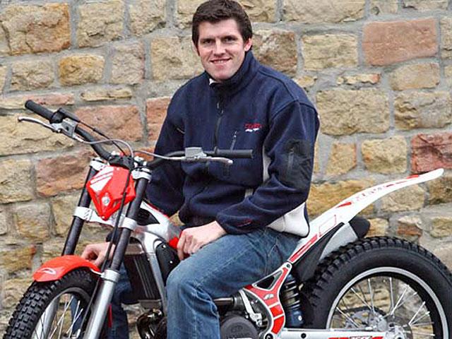 Dougie Lampkin con Beta en 2008