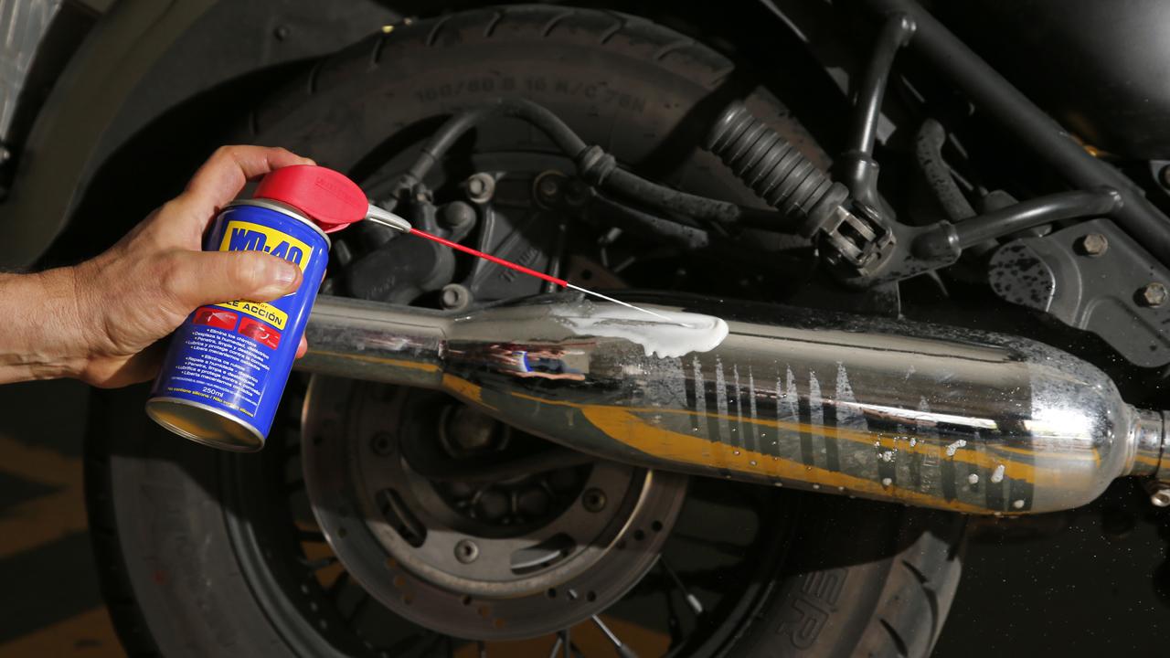 Cómo limpiar los cromados de tu moto