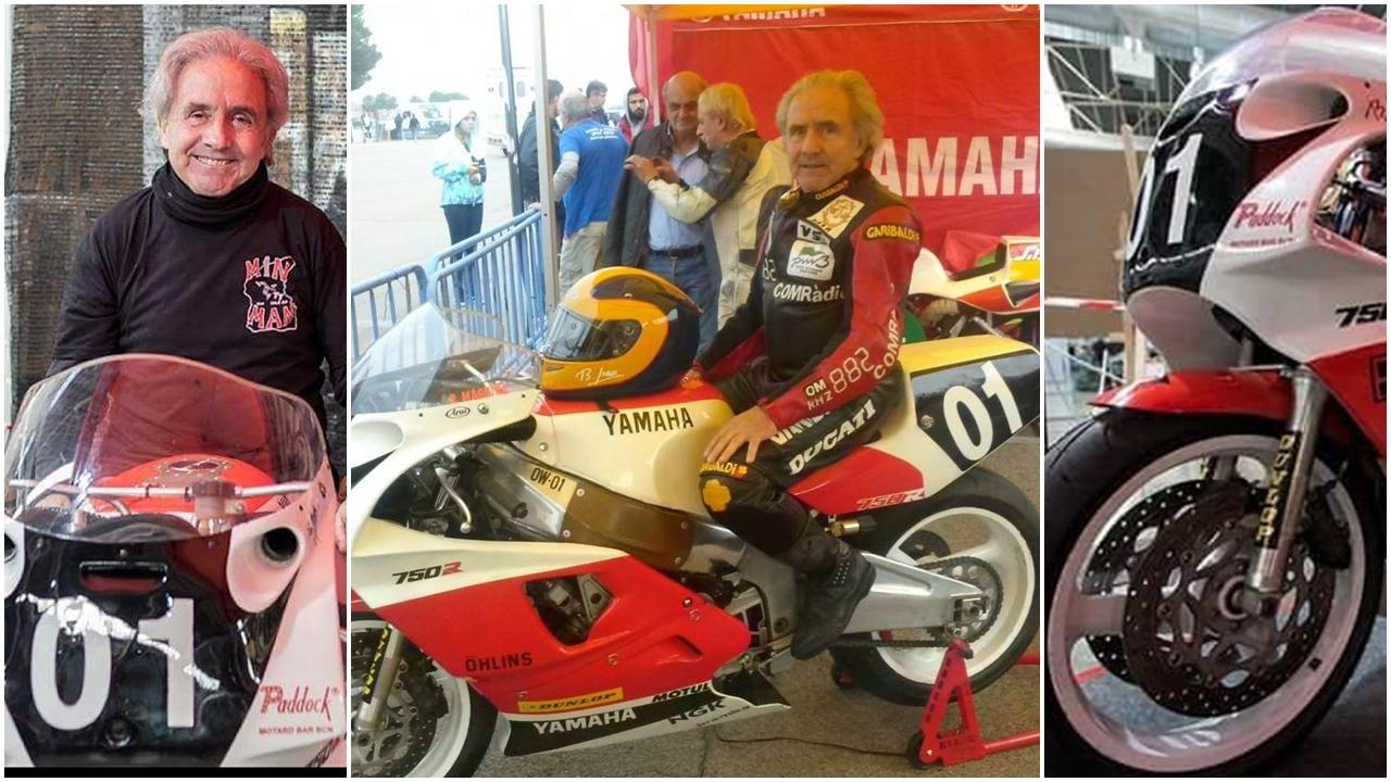 Benjamín Grau irá al Classic TT de la Isla de Man para dar la 'Parade Lap'