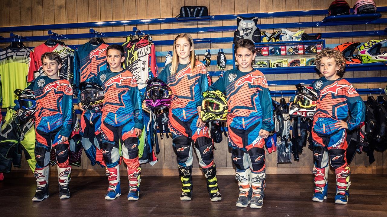 El Team Moremoto Racing listo para competir en el MX Master Kids