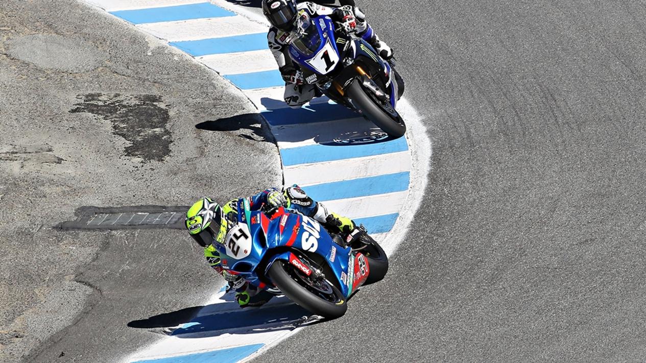 Toni Elías puede empezar a descorchar el título de MotoAmerica en Laguna Seca