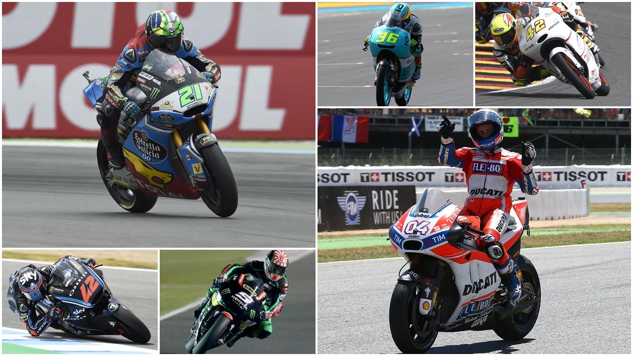 Las 12 sorpresas de la primera mitad de MotoGP 2017