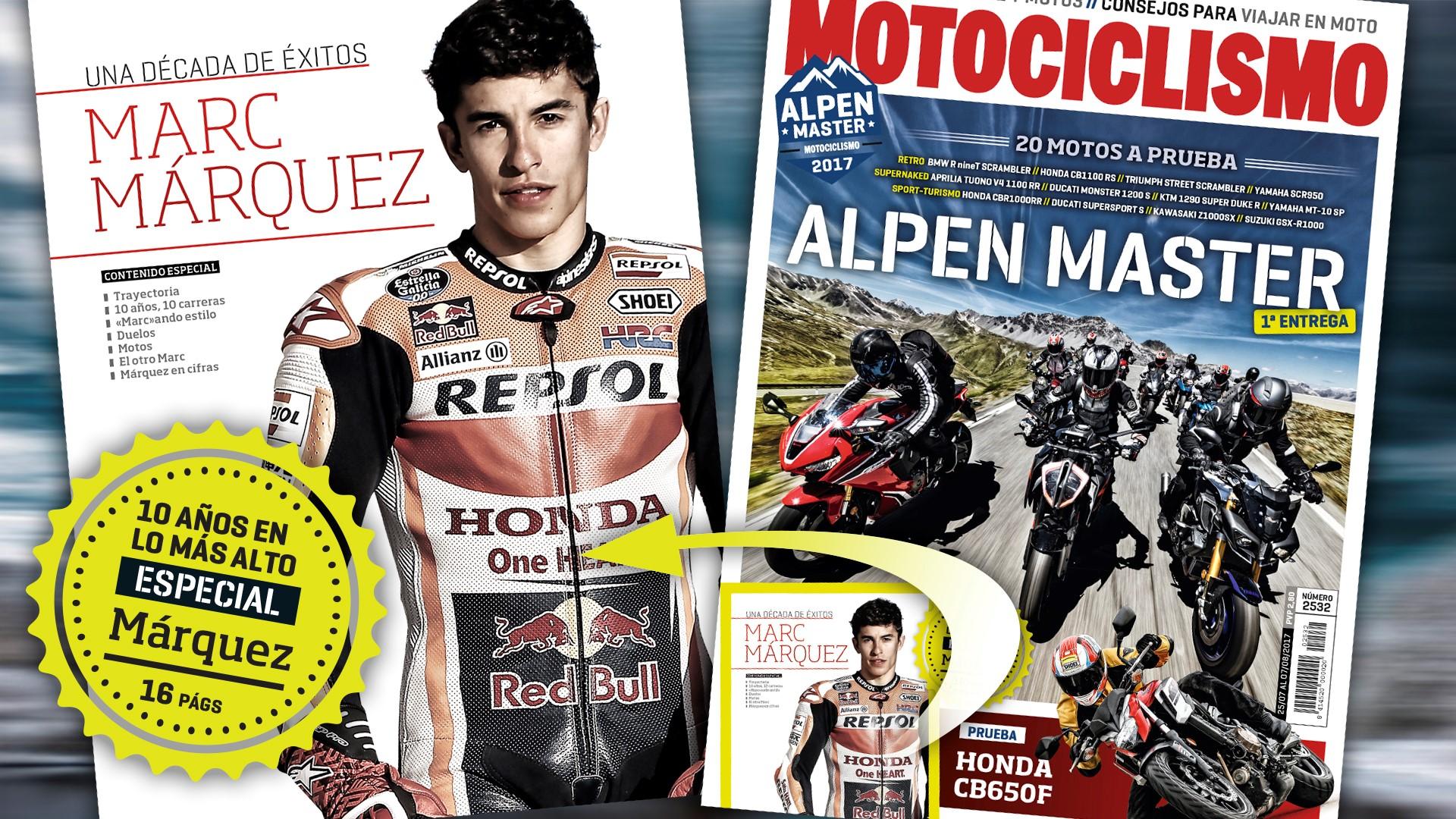 Especial Marc Márquez en MOTOCICLISMO